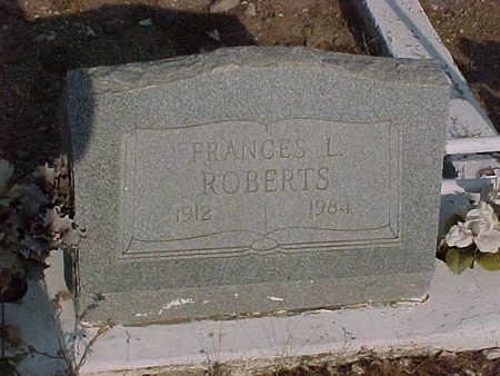 ROBERTS, FRANCES  L. - Gila County, Arizona | FRANCES  L. ROBERTS - Arizona Gravestone Photos