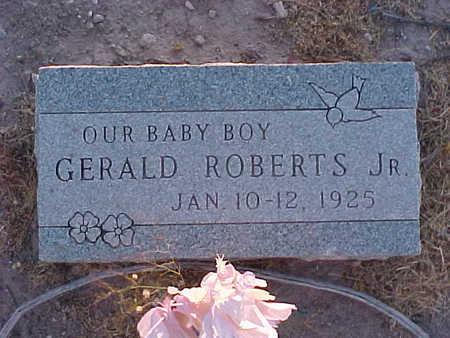 ROBERTS, GERALD, JR. - Gila County, Arizona | GERALD, JR. ROBERTS - Arizona Gravestone Photos