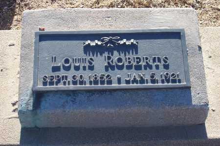 ROBERTS, LOUIS - Gila County, Arizona | LOUIS ROBERTS - Arizona Gravestone Photos
