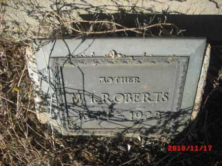 ROBERTS, M. I. - Gila County, Arizona | M. I. ROBERTS - Arizona Gravestone Photos