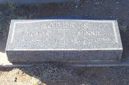 ROBERTS, THOMAS H. - Gila County, Arizona | THOMAS H. ROBERTS - Arizona Gravestone Photos