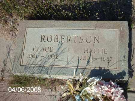 ROBERTSON, HALLIE - Gila County, Arizona | HALLIE ROBERTSON - Arizona Gravestone Photos