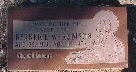 FALK ROBISON, BERNEICE W. - Gila County, Arizona   BERNEICE W. FALK ROBISON - Arizona Gravestone Photos