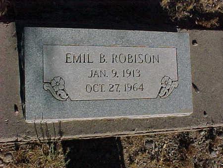 ROBISON, EMIL  B. - Gila County, Arizona | EMIL  B. ROBISON - Arizona Gravestone Photos