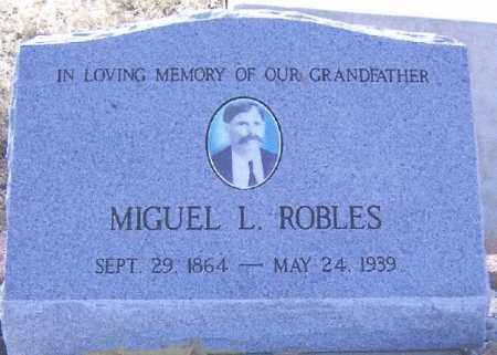 ROBLES, MIGUEL LUNA - Gila County, Arizona   MIGUEL LUNA ROBLES - Arizona Gravestone Photos