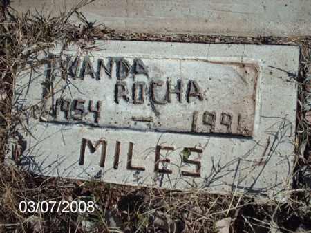 ROCHA, WANDA - Gila County, Arizona   WANDA ROCHA - Arizona Gravestone Photos