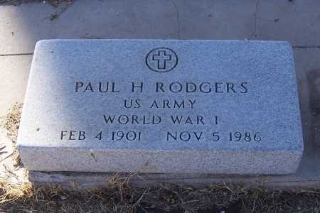 RODGERS, PAUL H. - Gila County, Arizona | PAUL H. RODGERS - Arizona Gravestone Photos