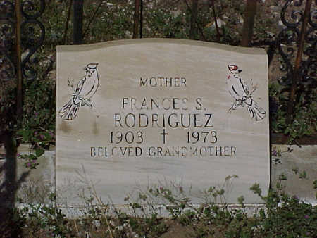 RODRIGUEZ, FRANCES  S. - Gila County, Arizona | FRANCES  S. RODRIGUEZ - Arizona Gravestone Photos