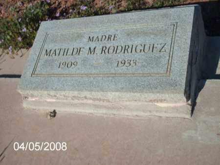 RODRIGUEZ, MATILDE  M. - Gila County, Arizona   MATILDE  M. RODRIGUEZ - Arizona Gravestone Photos