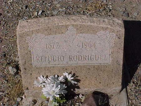 RODRIGUEZ, REFUGIO - Gila County, Arizona   REFUGIO RODRIGUEZ - Arizona Gravestone Photos