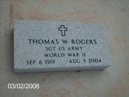 ROGERS, THOMAS - Gila County, Arizona   THOMAS ROGERS - Arizona Gravestone Photos