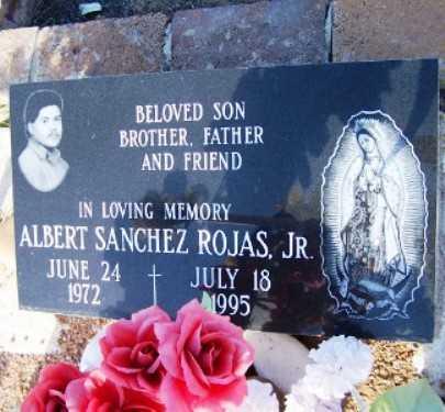 ROJAS, ALBERT S., JR. - Gila County, Arizona | ALBERT S., JR. ROJAS - Arizona Gravestone Photos