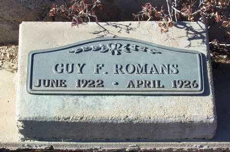 ROMANS, GUY F. - Gila County, Arizona | GUY F. ROMANS - Arizona Gravestone Photos