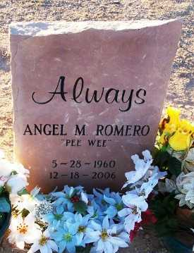 ROMERO, ANGEL MOLINAR  (PEEWEE) - Gila County, Arizona | ANGEL MOLINAR  (PEEWEE) ROMERO - Arizona Gravestone Photos