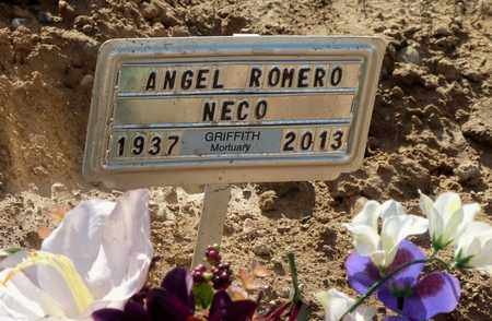 "ROMERO, ANGEL ""NECO"" - Gila County, Arizona | ANGEL ""NECO"" ROMERO - Arizona Gravestone Photos"