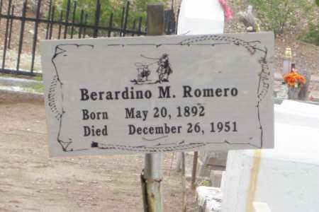 ROMERO, BERARDINO  M. - Gila County, Arizona | BERARDINO  M. ROMERO - Arizona Gravestone Photos