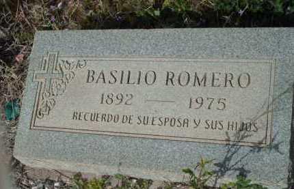 ROMERO, BASILIO - Gila County, Arizona | BASILIO ROMERO - Arizona Gravestone Photos