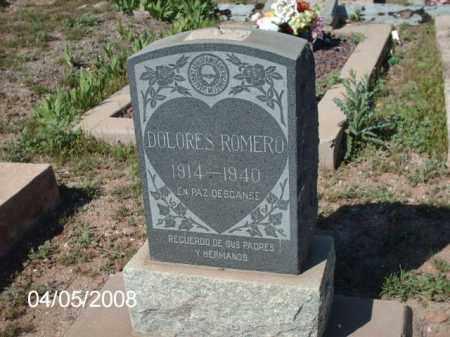 ROMERO, DOLORES - Gila County, Arizona | DOLORES ROMERO - Arizona Gravestone Photos