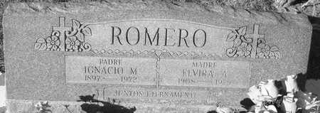 ROMERO, IGNACIO  M. - Gila County, Arizona | IGNACIO  M. ROMERO - Arizona Gravestone Photos