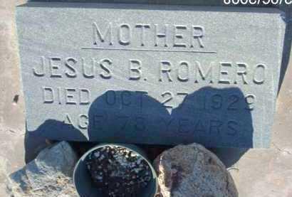 ROMERO, JESUS B. - Gila County, Arizona | JESUS B. ROMERO - Arizona Gravestone Photos