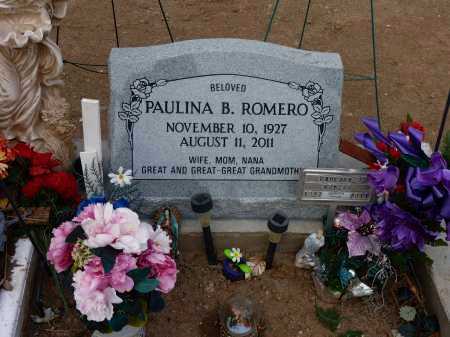 BALDENEGRO ROMERO, MARIA PAULINA - Gila County, Arizona   MARIA PAULINA BALDENEGRO ROMERO - Arizona Gravestone Photos