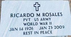 ROSALES, RICARDO M. - Gila County, Arizona | RICARDO M. ROSALES - Arizona Gravestone Photos