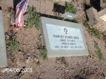 ROSE, HARVEY ELMER - Gila County, Arizona | HARVEY ELMER ROSE - Arizona Gravestone Photos