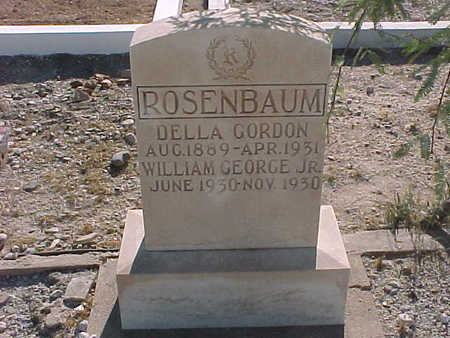 ROSENBAUM, WILLIAM GEORGE JR. - Gila County, Arizona | WILLIAM GEORGE JR. ROSENBAUM - Arizona Gravestone Photos