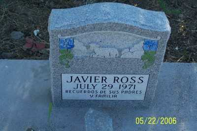 ROSS, JAVIER - Gila County, Arizona | JAVIER ROSS - Arizona Gravestone Photos