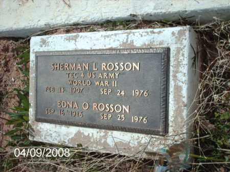 ROSSON, SHERMAN L. - Gila County, Arizona | SHERMAN L. ROSSON - Arizona Gravestone Photos