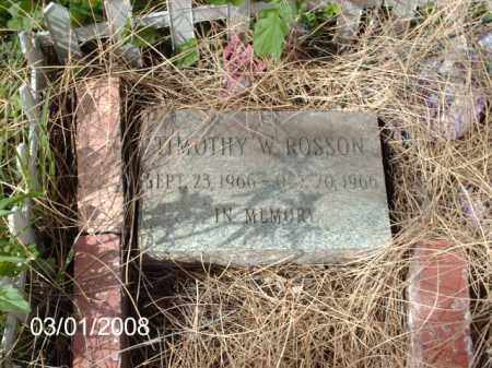 ROSSON, TIMOTHY - Gila County, Arizona | TIMOTHY ROSSON - Arizona Gravestone Photos