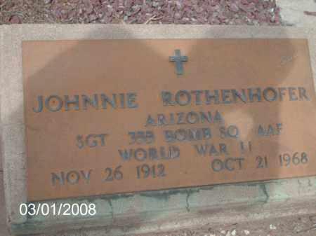 ROTHENHOFER, JOHNNIE - Gila County, Arizona | JOHNNIE ROTHENHOFER - Arizona Gravestone Photos