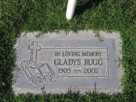 RUGG, GLADYS - Gila County, Arizona | GLADYS RUGG - Arizona Gravestone Photos