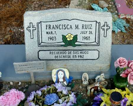 RUIZ, FRANCISCA  M. - Gila County, Arizona   FRANCISCA  M. RUIZ - Arizona Gravestone Photos