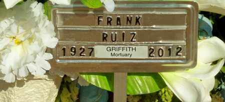"RUIZ, FRANCISCO ""PANCHO"" ""FRANK"" - Gila County, Arizona 
