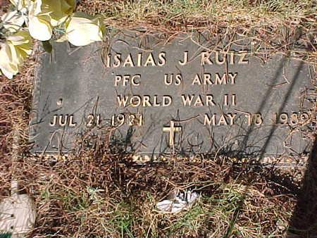 RUIZ, ISAIAS J. - Gila County, Arizona | ISAIAS J. RUIZ - Arizona Gravestone Photos