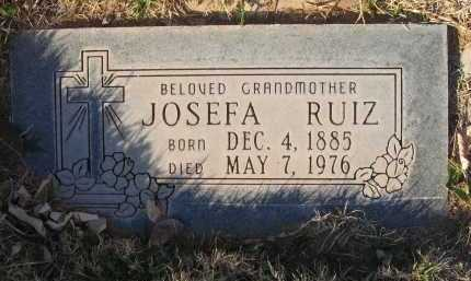 RUIZ, JOSEFA - Gila County, Arizona | JOSEFA RUIZ - Arizona Gravestone Photos