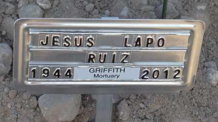 "RUIZ, JESUS ALBERT ""LAPO"" - Gila County, Arizona | JESUS ALBERT ""LAPO"" RUIZ - Arizona Gravestone Photos"