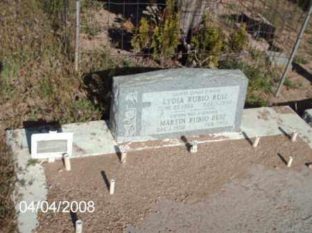 RUIZ, LYDIA RUBIO - Gila County, Arizona | LYDIA RUBIO RUIZ - Arizona Gravestone Photos