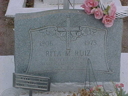 RUIZ, RITA M. - Gila County, Arizona | RITA M. RUIZ - Arizona Gravestone Photos