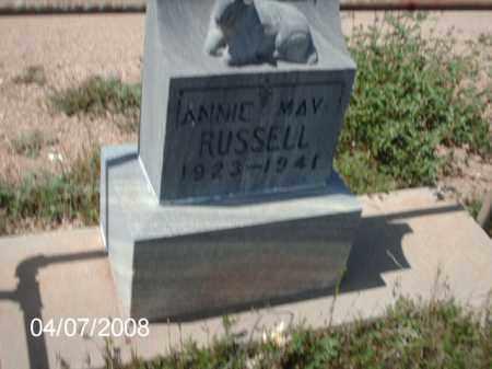 RUSSELL, ANNIE - Gila County, Arizona | ANNIE RUSSELL - Arizona Gravestone Photos