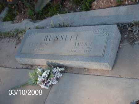 RUSSELL, EARL  R. JR. - Gila County, Arizona   EARL  R. JR. RUSSELL - Arizona Gravestone Photos