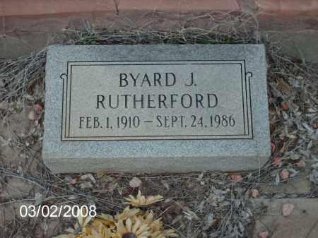 RUTHERFORD, BYARD - Gila County, Arizona | BYARD RUTHERFORD - Arizona Gravestone Photos