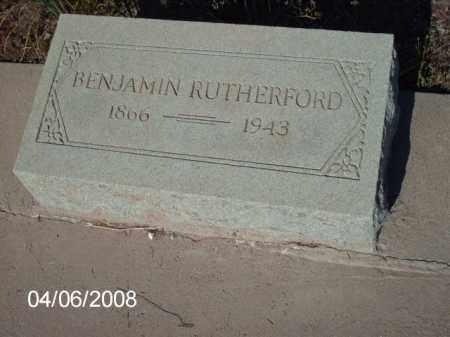 RUTHERFORD, BENJAMIN - Gila County, Arizona | BENJAMIN RUTHERFORD - Arizona Gravestone Photos