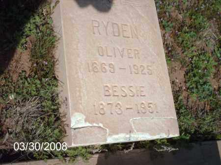 RYDEN, OLIVER - Gila County, Arizona | OLIVER RYDEN - Arizona Gravestone Photos