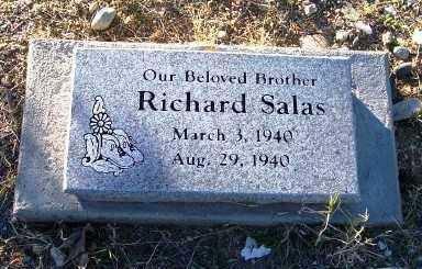 SALAS, RICHARD - Gila County, Arizona | RICHARD SALAS - Arizona Gravestone Photos