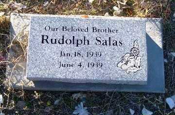 SALAS, RUDOLPH - Gila County, Arizona   RUDOLPH SALAS - Arizona Gravestone Photos