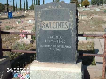 SALCINES, JACINTO - Gila County, Arizona | JACINTO SALCINES - Arizona Gravestone Photos