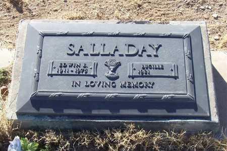SALLADAY, EDWIN E. - Gila County, Arizona   EDWIN E. SALLADAY - Arizona Gravestone Photos