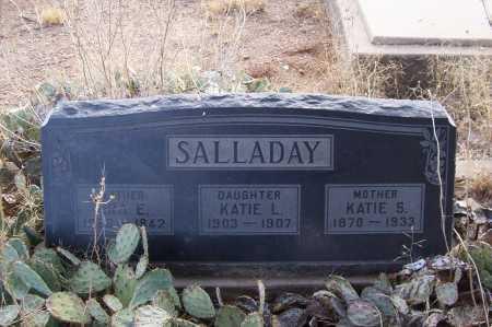 SALLADAY, IRA E. - Gila County, Arizona | IRA E. SALLADAY - Arizona Gravestone Photos